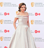 Keeley Hawes at the British Academy (BAFTA) Television Awards 2019, Royal Festival Hall, Southbank Centre, Belvedere Road, London, England, UK, on Sunday 12th May 2019.<br /> CAP/CAN<br /> ©CAN/Capital Pictures