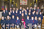 A great day for the pupils from Caherleaheen National School on Friday as Bishop Bill Murphy, confirmed them in St John's Church, Tralee...Children from Presentation Primary School, Tralee who were confirmed on Friday at St John's Church, Tralee by Bishop Bill Murphy. ..   Copyright Kerry's Eye 2008