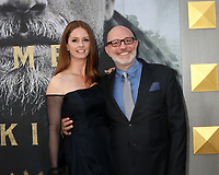 "LOS ANGELES - MAY 8:  Joann Richter, Akiva Goldsman at the ""King Arthur Legend of the Sword"" World Premiere on the TCL Chinese Theater IMAX on May 8, 2017 in Los Angeles, CA"
