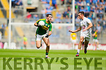 Bryan Sheehan, Kerry in action against Eoin Doyle, Kildare in the All Ireland Quarter Final at Croke Park on Sunday.