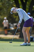 Brittany Altomare (USA) watches her putt on 12 during the round 3 of the Volunteers of America Texas Classic, the Old American Golf Club, The Colony, Texas, USA. 10/5/2019.<br /> Picture: Golffile   Ken Murray<br /> <br /> <br /> All photo usage must carry mandatory copyright credit (© Golffile   Ken Murray)