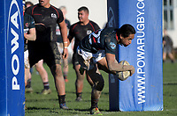 Action from the Central North Island 1st XV rugby union match between Feilding High School and Manukura at Feilding High School in Feilding, New Zealand on Wednesday, 27 June 2018. Photo: Dave Lintott / lintottphoto.co.nz