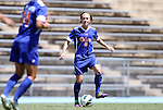 26 August 2012: Florida's Taylor Travis. The University of Florida Gators defeated the Duke University Blue Devils 3-2 in overtime at Fetzer Field in Chapel Hill, North Carolina in a 2012 NCAA Division I Women's Soccer game.