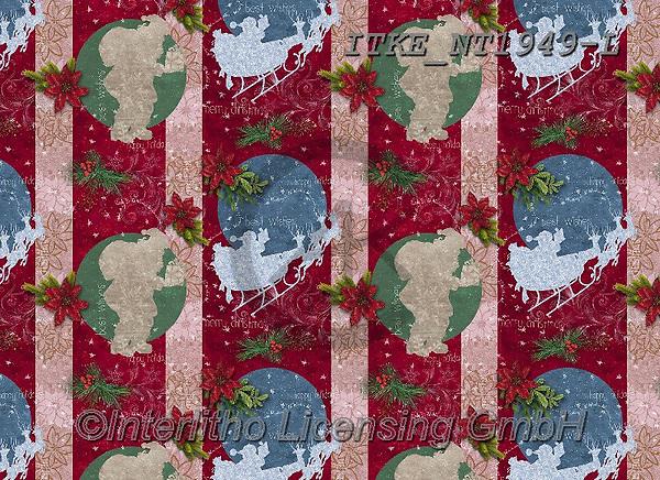 Isabella, GIFT WRAPS, GESCHENKPAPIER, PAPEL DE REGALO, Christmas Santa, Snowman, Weihnachtsmänner, Schneemänner, Papá Noel, muñecos de nieve, paintings+++++,ITKENT1949-L,#gp#,#x#
