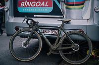 mudded bike of ISERBYT Eli (BEL/Marlux-Bingoal) post-race / pre-wash<br /> <br /> GP Sven Nys (BEL) 2019<br /> DVV Trofee<br /> &copy;kramon