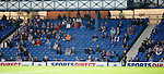 Not many Rangers fans in Ibrox as the supporters are staying away