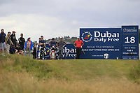 Thorbjorn Olesen (DEN) on the 18th tee during Round 3 of the Dubai Duty Free Irish Open at Ballyliffin Golf Club, Donegal on Saturday 7th July 2018.<br /> Picture:  Thos Caffrey / Golffile