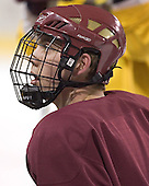 Kyle Kucharski - Boston College's morning skate on Saturday, December 31, 2005 at Magness Arena in Denver, Colorado.  Boston College defeated Princeton that night to win the Denver Cup.