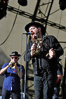 LONDON, ENGLAND - JULY 17: Nathaniel Rateliff and The Night Sweats performing at Citadel, Victoria Park on July 17, 2016 in London, England.<br /> CAP/MAR<br /> &copy;MAR/Capital Pictures /MediaPunch ***NORTH AND SOUTH AMERICAS ONLY***