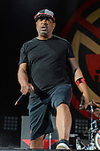 WEST PALM BEACH, FL - OCTOBER 02: Chuck D of Prophets of Rage performs at The Perfect Vodka Amphitheater on October 2, 2016 in West Palm Beach Florida. Credit Larry Marano © 2016