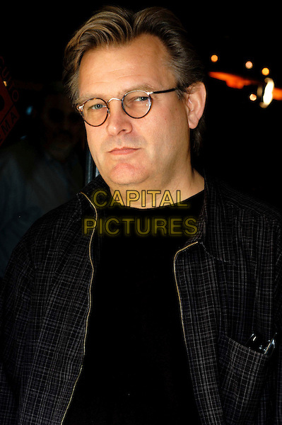 "BRENT HAMER.Photocall for ""Factotum"" at cinema 4 fontane, Rome, Italy..March 27th, 2006.Ref: CAV.headshot portrait glasses.www.capitalpictures.com.sales@capitalpictures.com.© Capital Pictures."
