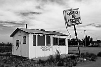 Abandoned Burger Joint in Logan, NM