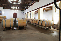barrel aging cellar chateau trottevieille saint emilion bordeaux france