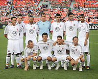 Starting eleven of Portsmouth FC during an international friendly match against D.C. United at RFK Stadium on July 24 2010, in Washington D.C. United won 4-0.