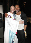 Dennis Stowe & Grasan Kingsberry.attending the Broadway Opening Night Gypsy Robe Ceremony honoring  Dennis Stowe in 'LEAP OF FAITH' on 4/26/2012 at the St. James Theatre in New York City.