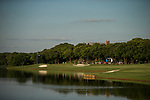 STILLWATER, OK - MAY 21: A view of the 18th fairway and and green during the Division I Women's Golf Individual Championship held at the Karsten Creek Golf Club on May 21, 2018 in Stillwater, Oklahoma. (Photo by Shane Bevel/NCAA Photos via Getty Images)