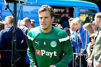 HAREN - Voetbal, Eerste Training FC Groningen  sportpark de Koepel, 01-07-2017,  FC Groningen speler Etienne Reijnen
