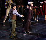 """Mark Linn-Baker and Nancy Opel during the Manhattan Concert Productions 25th Anniversary concert performance of """"Crazy for You"""" at David Geffen Hall, Lincoln Center on February 19, 2017 in New York City."""