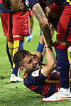 FC Barcelona's Jordi Alba  during Spanish Kings Cup Final match. May 22,2016. (ALTERPHOTOS/Rodrigo Jimenez)