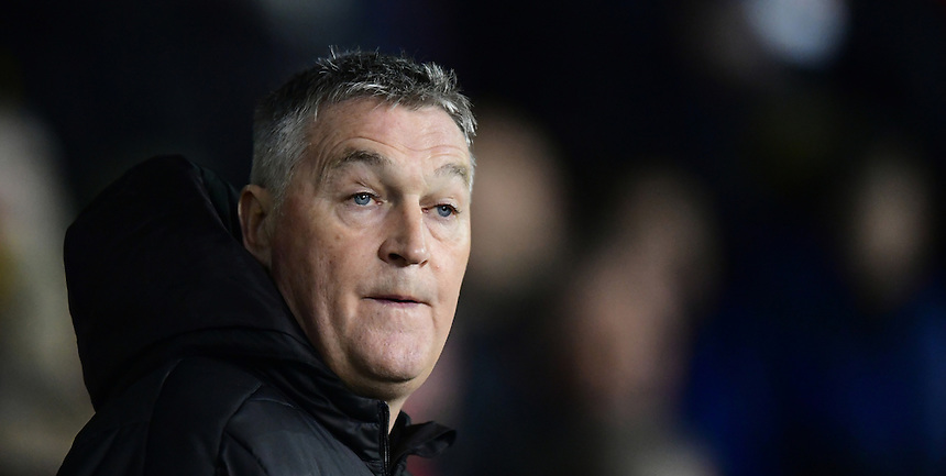 Fleetwood Town's assistant head coach Rob Kelly<br /> <br /> Photographer Chris Vaughan/CameraSport<br /> <br /> The EFL Sky Bet League One - Sheffield United v Fleetwood Town - Tuesday 24th January 2017 - Bramall Lane - Sheffield<br /> <br /> World Copyright &copy; 2017 CameraSport. All rights reserved. 43 Linden Ave. Countesthorpe. Leicester. England. LE8 5PG - Tel: +44 (0) 116 277 4147 - admin@camerasport.com - www.camerasport.com