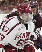 Colin Blackwell (Harvard - 63), Mike Borkowski (Colgate - 21) - The Harvard University Crimson defeated the visiting Colgate University Raiders 7-4 (EN) on Saturday, February 20, 2016, at Bright-Landry Hockey Center in Boston, Massachusetts,