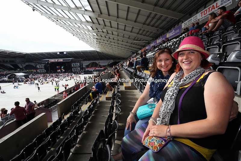 Pictured: Revellers Robyn Hague. Wednesday 02 July 2014<br />