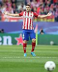Atletico de Madrid's Koke Resurrecccion during Champions League 2015/2016 Semi-Finals 1st leg match. April 27,2016. (ALTERPHOTOS/Acero)