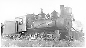 3/4 engineer's-side view of D&amp;RG #407 posed on siding.<br /> D&amp;RG    Taken by Perry, Otto C. - 5/28/1923