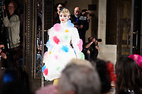 Lilyella Zender at the Pam Hogg show during London Fashion Week AW18, at the Freemasons' Hall in London, UK. <br /> 16 February  2018<br /> Picture: Steve Vas/Featureflash/SilverHub 0208 004 5359 sales@silverhubmedia.com
