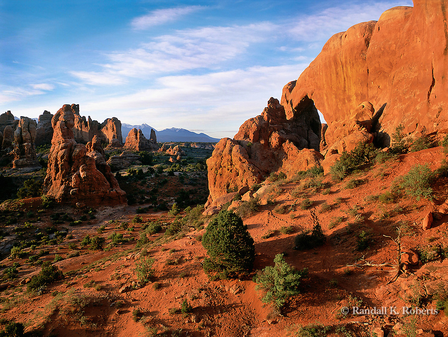 Behind North Window Arch, The Windows, Arches National Park, Utah