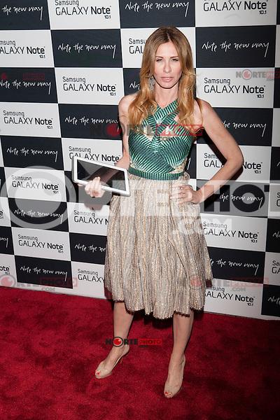 Carole Radziwill attends the Samsung Galaxy Note 10.1 Launch Event in New York City, August 15, 2012. ©Diego Corredor/MediaPunch Inc. /NortePhoto.com<br /> <br /> **CREDITO*OBLIGATORIO** *No*Venta*A*Terceros*<br /> *No*Sale*So*third* ***No*Se*Permite*Hacer*Archivo***No*Sale*So*third*