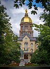September 6, 2017; Main Building (Photo by Matt Cashore/University of Notre Dame)