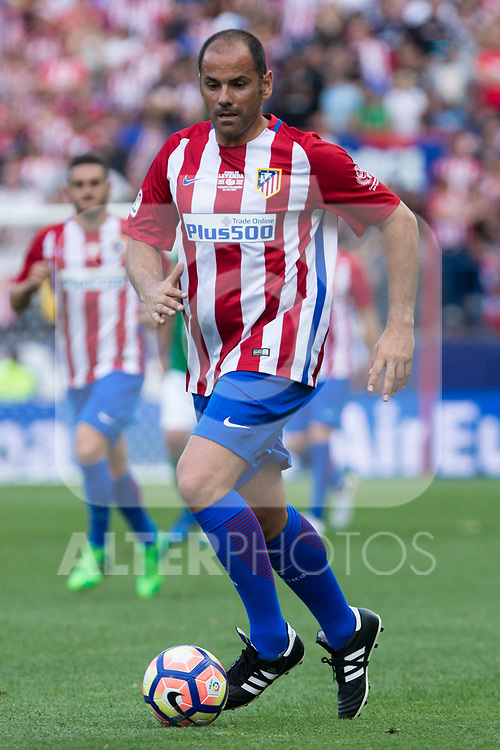 Salva Ballesta during the last match to be played by Atletico de Madrid at Vicente Calderon Stadium in Madrid, May 28, 2017. Spain.. (ALTERPHOTOS/Rodrigo Jimenez)