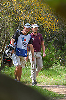 Joost Luiten (NED) makes his way to the tee on 2 during day 1 of the Valero Texas Open, at the TPC San Antonio Oaks Course, San Antonio, Texas, USA. 4/4/2019.<br /> Picture: Golffile | Ken Murray<br /> <br /> <br /> All photo usage must carry mandatory copyright credit (© Golffile | Ken Murray)
