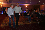 Celebrity Golf @ Golf Live.Kennt Dalgleish & Alan Hansen.Celtic Manor Resort.10.05.13.©Steve Pope
