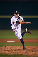 Connecticut Tigers pitcher Matt Davenport (51) delivers a pitch during the first game of a doubleheader against the Brooklyn Cyclones on September 2, 2015 at Senator Thomas J. Dodd Memorial Stadium in Norwich, Connecticut.  Brooklyn defeated Connecticut 7-1.  (Mike Janes/Four Seam Images)