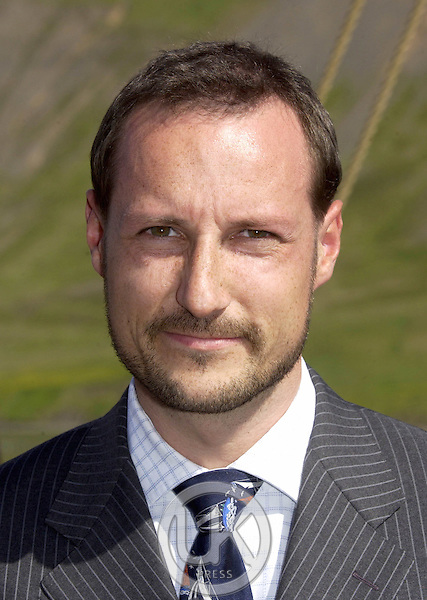 Crown Prince Haakon & Crown Princess Mette-Marit of Norway's visit to Iceland..Visit  to Siglufjorur..
