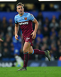 Mark Noble of West Ham United during the Premier League match at Stamford Bridge, London. Picture date: 30th November 2019. Picture credit should read: Robin Parker/Sportimage