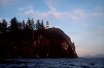Cape Disappointment, Columbia River; lighthouse, Washington State Park; Pacific Northwest. USA;.