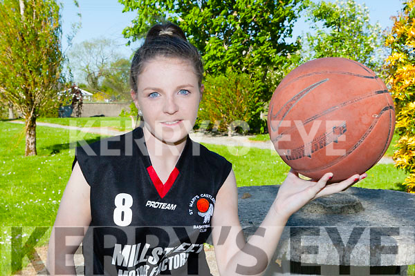 St Mary's basketballer Shauna Ahern Currow who was named the Basketball Ireland u16 Player of the year on Wednesday