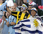 11 July 2007: Unidentified Uruguay fans. The Under-20 Men's National Team of the United States defeated Uruguay's Under-20 Men's National Team 2-1 after extra time in a  round of 16 match at the National Soccer Stadium (also known as BMO Field) in Toronto, Ontario, Canada during the FIFA U-20 World Cup Canada 2007 tournament.
