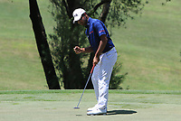 Shubhankar Sharma (IND) in action on the 17th during Round 4 of the Maybank Championship at the Saujana Golf and Country Club in Kuala Lumpur on Saturday 4th February 2018.<br /> Picture:  Thos Caffrey / www.golffile.ie<br /> <br /> All photo usage must carry mandatory copyright credit (&copy; Golffile | Thos Caffrey)