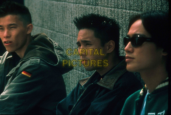 """ BETTER LUCK TOMORROW"".L-R:  JASON TOBIN, PARRY SHEN  & ROGER FAN.Filmstill - Editorial Use Only.Ref: FB.sales@capitalpictures.com.www.capitalpictures.com.Supplied by Capital Pictures."