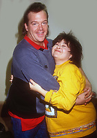 Tom Arnold and Roseanne Barr 1989<br /> Photo By Adam Scull/PHOTOlink.net /MediaPunch