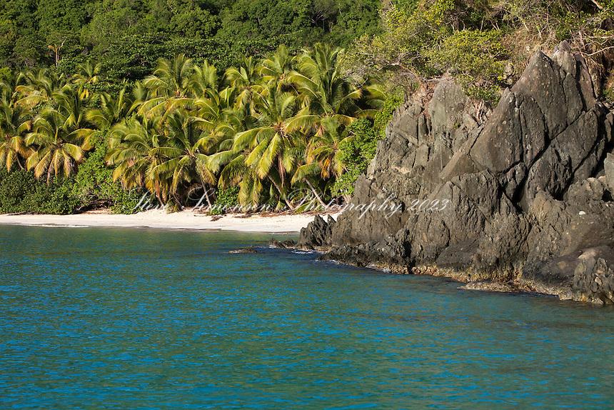 Gibney Beach<br /> Virgin Islands National Park<br /> St. John<br /> US Virgin Islands
