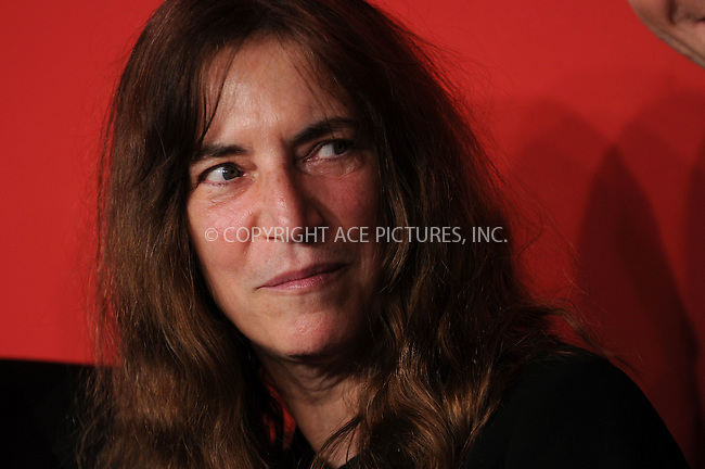 WWW.ACEPIXS.COM . . . . . ....April 30 2009, New York City....Musician Patti Smith arriving at the Cartier 100th Anniversary in America Celebration at Cartier Fifth Avenue Mansion on April 30, 2009 in New York City.....Please byline: KRISTIN CALLAHAN - ACEPIXS.COM.. . . . . . ..Ace Pictures, Inc:  ..tel: (212) 243 8787 or (646) 769 0430..e-mail: info@acepixs.com..web: http://www.acepixs.com