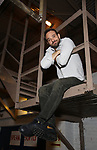 Charlie Cox during his Broadway Debut Photo Shoot  at the Bernard B. Jacobs Theatre on September 19, 2019 in New York City.
