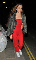 Sophie Cookson at the &quot;Killer Joe&quot; press night departures, Trafalgar Studios, Whitehall, London, England, UK, on Monday 04 June 2018.<br /> CAP/CAN<br /> &copy;CAN/Capital Pictures