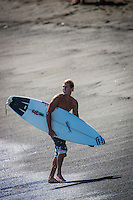 The late Andy Irons (HAW) free surfing at St Leu on Reunion Island. circa 2005 Photo: Joli