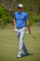 Martin Laird (SCO) after sinking his putt on 2 during Round 4 of the Valero Texas Open, AT&amp;T Oaks Course, TPC San Antonio, San Antonio, Texas, USA. 4/22/2018.<br /> Picture: Golffile | Ken Murray<br /> <br /> <br /> All photo usage must carry mandatory copyright credit (&copy; Golffile | Ken Murray)